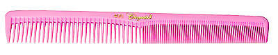 KREST CLEOPATRA #400   BASIN & CUTTING HAIR STYLING COMB  NEON PINK   1_ COMB