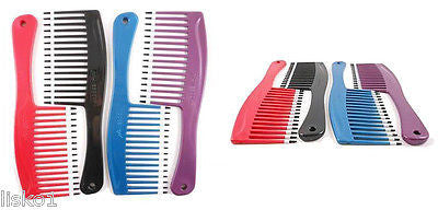 MEBCO #MHV1 HIGH VOLUME HAIR COMB, WITH DOUBLE DIP TIPS FOR SCALP PROTECTION