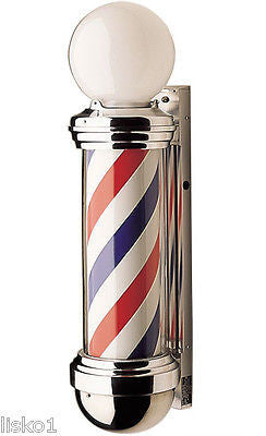 WILLIAM  MARVY CO.  #88 TRADITIONAL   2- LIGHT  BARBER POLE, ORIGINAL