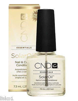 SOLAR NAIL OIL CND ESSENTIALS SOLAR OIL NAIL & CUTICLE CONDITIONER,  .25 OZ BOTTLE
