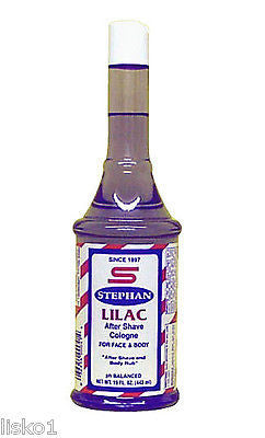 STEPHAN  LILAC AFTERSHAVE  LOTION  FOR FACE & BODY     1 _ 15 OZ. BOTTLE