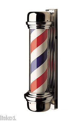 WILLIAM MARVY CO.  #77 TRADITIONAL   SINGLE LIGHT  BARBER POLE, ORIGINAL