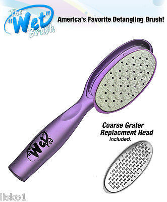 "LUXOR PRO "" THE WET PED"" by THE WET BRUSH, PEDICURE FOOT FILE (purple)"