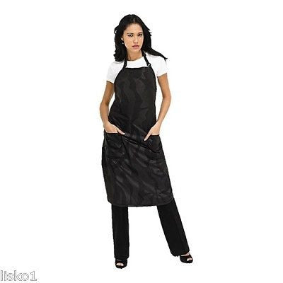 APRON BETTY DAIN #531 BLEACH PROOF HAIR STYLIST SALON APRON  (BLACK)