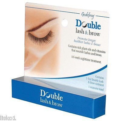 DOUBLE LASH & BROW, LONGER HEALTHIER LASHES