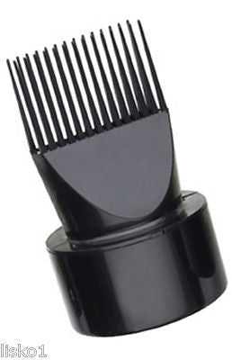 HAIR DRYER ATTACHMENT DIANE #27WN2 SNAP-ON NOZZLE HAIR DRYER ATTACHMENT DIFFUSER COMB