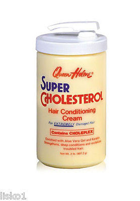 "QUEEN HELENE 2 LB HAIR CONDITIONING  ""SUPER"" CHOLESTEROL CREAM"