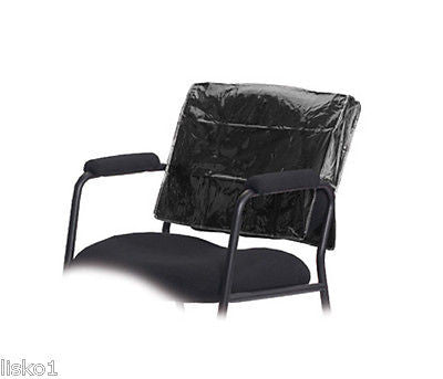 STYLING CHAIR COVER BETTY DAIN #196 SQUARE STYLING CHAIR BACK COVER, BLACK