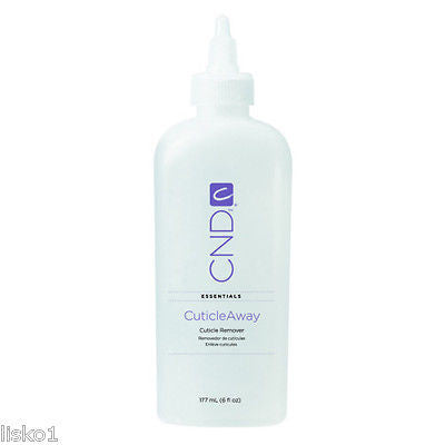 "CUTICLE AWAY CND  NAIL ESSENTIALS "" CUTICLE AWAY ""  CUTICLE REMOVER   1 - 6 OZ. BOTTLE"