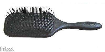 HAIR BRUSH DENMAN #D84 PROFESSIONAL PADDLE AIR CUSHIONED PAD HAIR BRUSH, HEAT RESISTANT