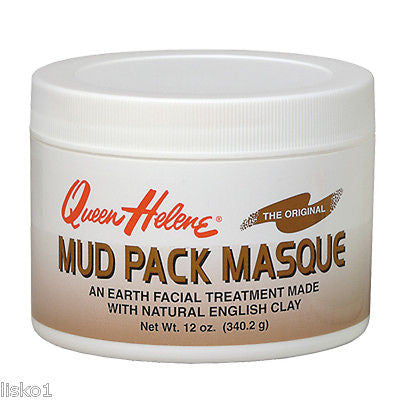 QUEEN HELENE 12 OZ.  MUD PACK SKIN MASQUE CAN