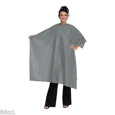 CUTTING CAPE BETTY DAIN #199-V VELCRO WHISPER SILVER HAIR STYLIST CUTTING CAPE