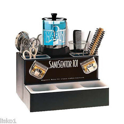 SANI SENTOR BARBER SHOP SANI-SENTOR 101 SANITIZER UNIT  FOR COMBS, RAZORS, SCISSORS