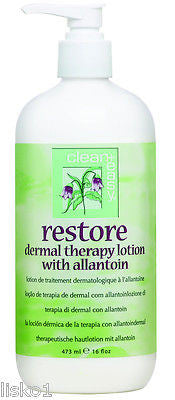 RESTORE AFTER WAX DERMAL THERAPY LOTION W/ ALLANTOIN  16 oz.    LMS