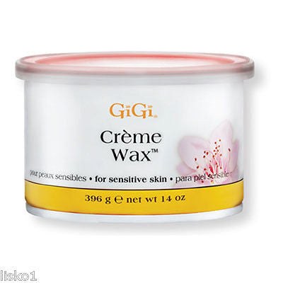 GIGI #0260    CREME WAX FOR HAIR REMOVAL    1_ 14OZ. CAN    FREE SHIPPING