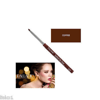 PALLADIO WATERPROOF RETRACTABLE HERBAL LIP LINER COFFEE 05