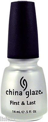 NAIL POLISH CHINA GLAZE FIRST & LAST  1/2 OZ. SIZE