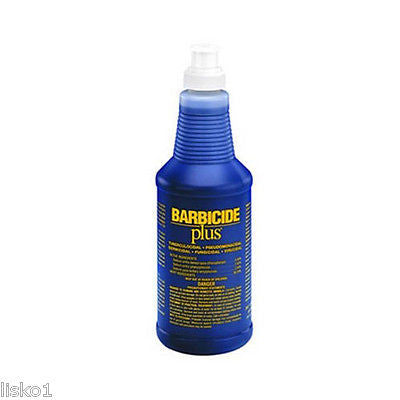 KING RESEARCH BARBICIDE PLUS  SALON DISINFECTANT 16 OZ.
