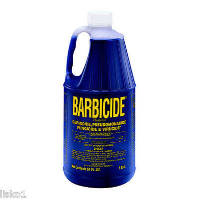 BARBICIDE GERMICIDE DISINFECTANT FOR TOOLS,   1/2 GALLON