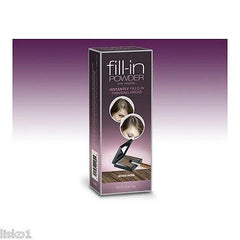 Irene Gari FILL-IN powder,instantly fills in thinning hair areas (DARK BROWN)