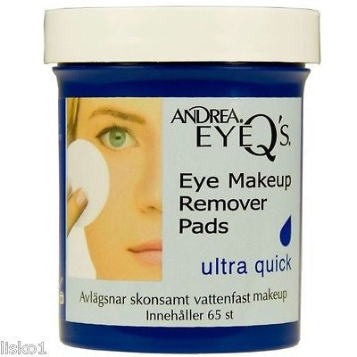 MAKE UP REMOVER ANDREA EYEQ'S  ULTRA QUIK EYE MAKE UP REMOVER PADS, 65