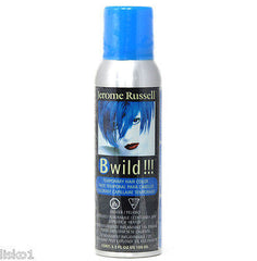 JEROME RUSSELL B WILD TEMPORARY HAIR COLOR SPRAY_BENGAL BLUE   3.5 OZ