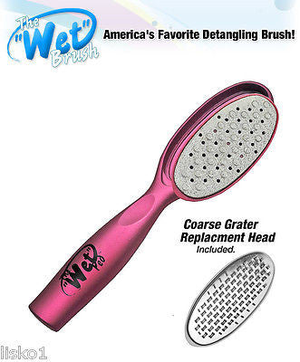 "LUXOR PRO "" THE WET PED"" by THE WET BRUSH, PEDICURE FOOT FILE (pink)"