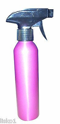 SOFT-N-STYLE 8 OZ. ALUMINUM  SPRAY STYLIST PLANT MISTER BOTTLE _ PINK