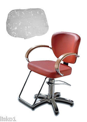 TAKARA - BELMONT* LIBRA * SALON STYLING CHAIR PLASTIC CHAIR BACK COVER (CLEAR)