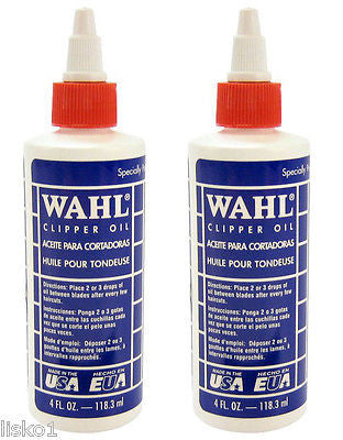 WAHL CLIPPER OIL 2-4OZ. SQUEEZE BOTTLE, CLIPPER-TRIMMER OIL