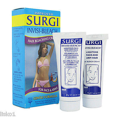 SURGI INVISI BLEACH FOR FACE & ARMS, GENTLE FORMULA