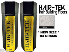 Hair Building Fibers, 2_ 84gms_ Silver *NEW SIZE * Hair Loss Concealer