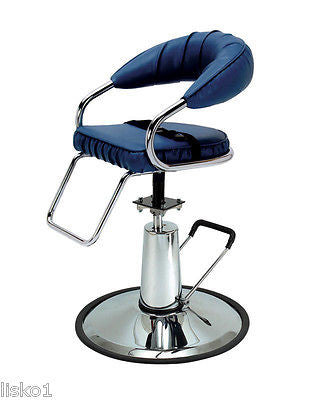 PIBBS # 970  CHILD 'S SALON,BARBER STYLING CHAIR W/SAFETY BELT,HYDRUALIC PUMP