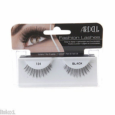 EYELASHES ARDELL  #124 FASHION GLAMOUR EYE LASHES_BLACK