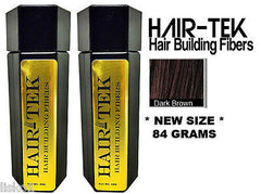 Hair Building Fibers,2_ 84gms_Dk Brown  *NEW SIZE * Hair Loss Concealer