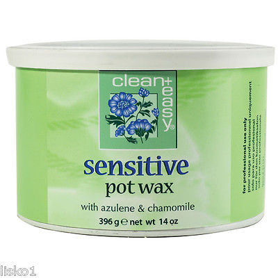 WAX SENSITIVE POT WAX  FOR FACIAL AND BODY HAIR REMOVAL14 OZ.