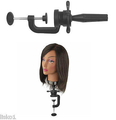 MANIKIN HEAD HOLDER DIANE #301 WIG  BLOCK HOLDER CLAMP TO TABLE TOP MOUNT