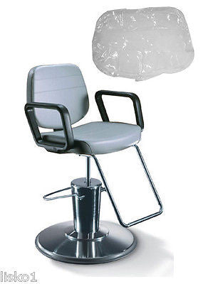 TAKARA - BELMONT *PRISM*  SALON STYLING CHAIR PLASTIC CHAIR BACK COVER (CLEAR)