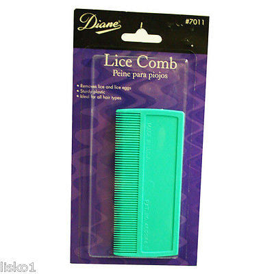 LICE COMB DIANE #7011 LICE COMB , GREEN COMB, FOR ALL HAIR TYPES