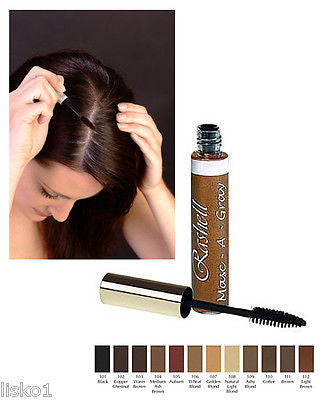 RASHELL MASC-A-GRAY TOUCH - UP HAIR MASCARA_ #104 MED. ASH  BROWN