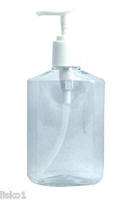 SOFT-N-STYLE #B45 SOAP,LOTION,DISH SOAP, HAND SANITIZER, PLASTIC PUMP BOTTLE