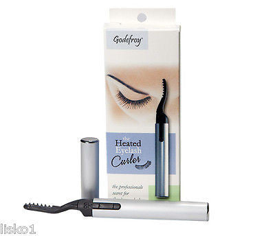 PURSE HEATED EYELASH CURLER, REQUIRES 3-AAA BATTERIES