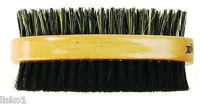 THE FADE BRUSH III MENS 2-SIDED HAIR BRUSH, FIRM/ULTRA SOFT NAT BOAR BRISTLE