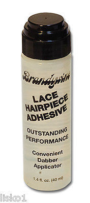 WIG ADHESIVE BRANDYWINE LACE WIG TOUPEE HAIRPIECE ADHESIVE GLUE 1.4 OZ