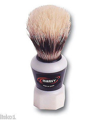 MARVY ETERNA SHAVING MUG BRUSH W/ 100%SOFT BOAR BRISTLES