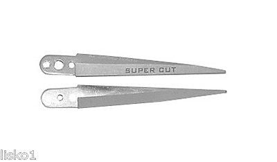 SUPERCUT # 44  STAINLESS STEEL  (REPLACEMENT) BLADES  1-SET