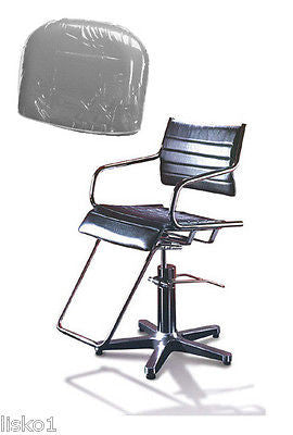 TAKARA - BELMONT* GHIA * SALON STYLING CHAIR PLASTIC CHAIR BACK COVER (CLEAR)