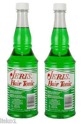 JERIS HAIR TONIC (NON OIL) BARBER SIZE    2 _ 14.OZ. BOTTLES
