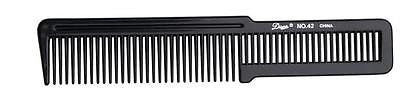 COMB DIANE PROFESSIONAL #42   HAIR STYLING FLATTOP COMB   (BLACK)