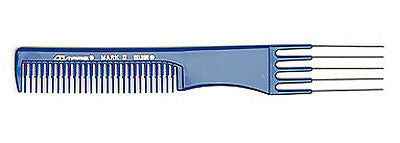 COMARE MARK II UP-DO STYLING COMB W/ STEEL LIFT (STAINLESS)  7-3/4""